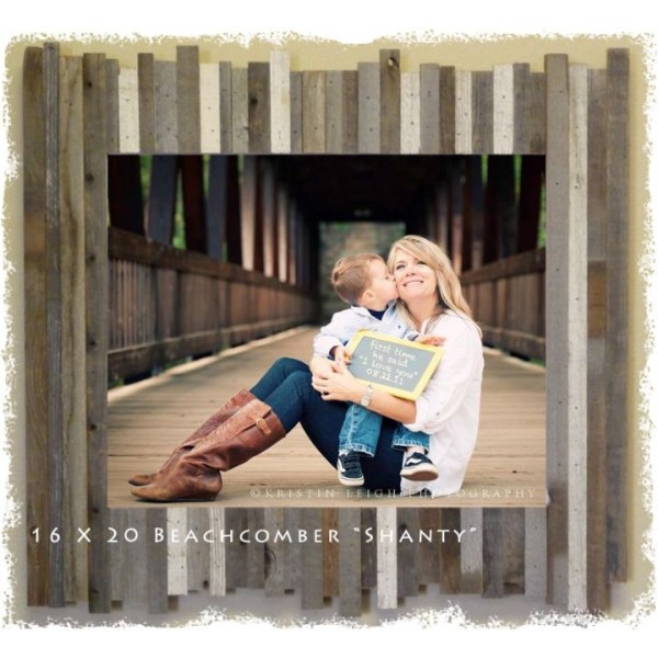 20 X 30 475 Beachcomber Shanty Reclaimed Wood Picture Frames