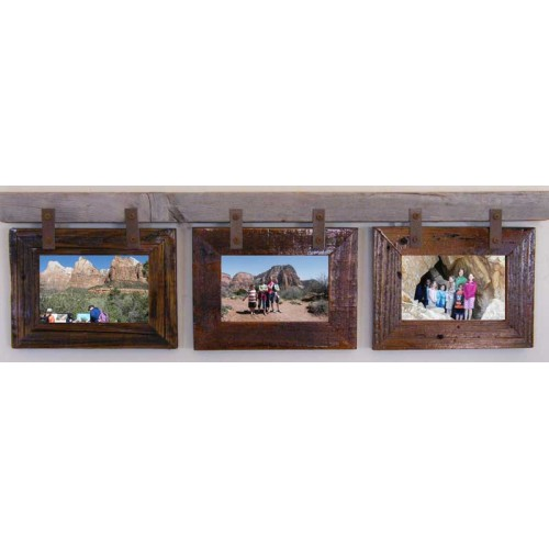 Montana Horizontal Conestoga Collage Frame for (3) 5 X 7s