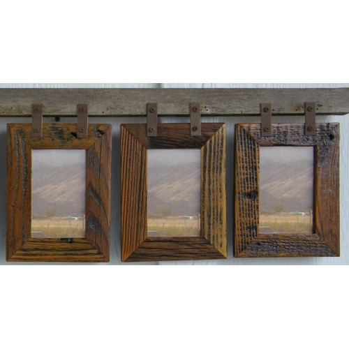 Montana Vertical Conestoga Collage Frame for (3) 5 X 7s