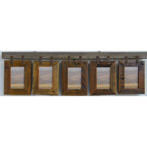 Montana Vertical Conestoga Collage Frame for (5) 4 X 6s