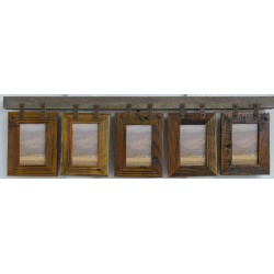 Montana Vertical Conestoga Collage Frame for (5) 5 X 7's