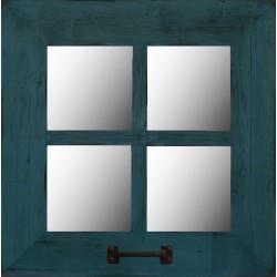 "18"" Square (4-Pane) Window Mirror"