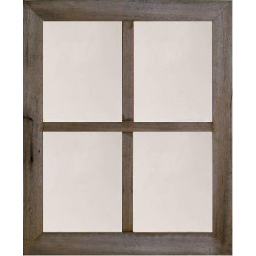 """2"""" Large 4-Pane Barn Window Mirror"""