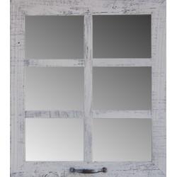 "20"" X 22.5"" (6-Pane) Window Mirror"