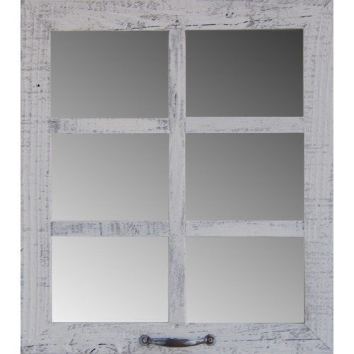 "20"" X 22.5"" (6-Pane) Window Mirror"