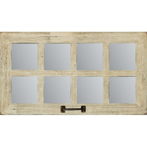 (8 Pane)14 X 25 Barn Window Mirror