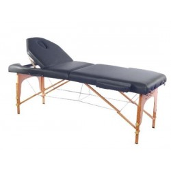 "HomCom 3"" Portable Folding Reiki Massage Table w/ Carrying Case"