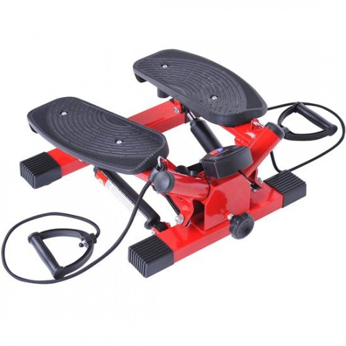 Soozier Full Body Aerobic Twist Stepper Cardio Exercise Machine With LED Screen