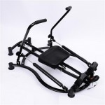 Soozier Rowing Machine Glider-Black