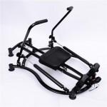 Soozier Rowing Machine Glider-Black