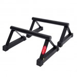 "Soozier 23"" Strength Training Parallettes Push Up Bar Stand"
