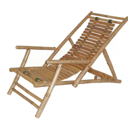 Bamboo recliner set of 2