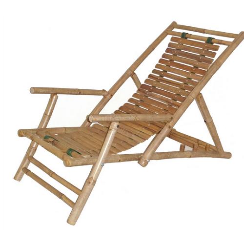 Bamboo recliner set of 2