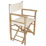 Bamboo folding director's chair 8 colors
