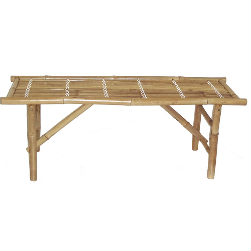 Folding bamboo benches