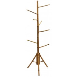 Bamboo tree rack