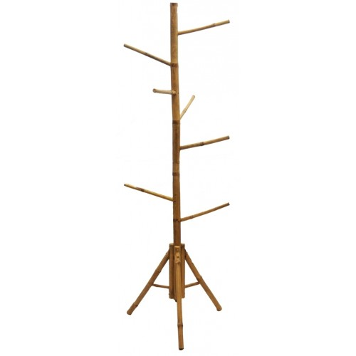 Bamboo tree rack