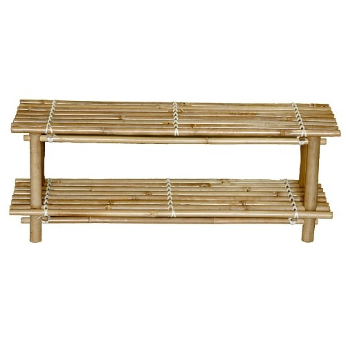 Bamboo shoe rack knock down