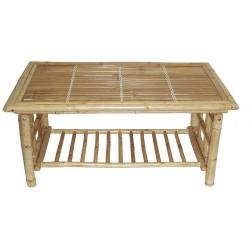Bamboo folding coffee table