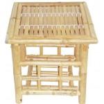 Bamboo foldig end table