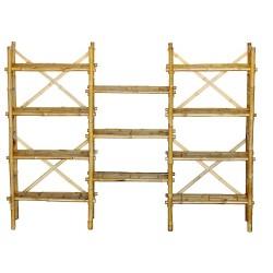 Bamboo expanded shelf