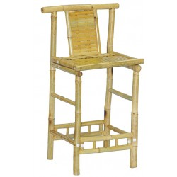Bamboo knock down bar stool