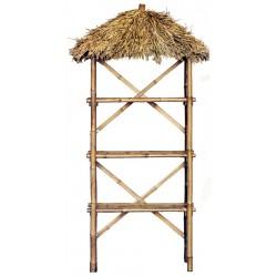 Bamboo 3 tier palapa shelf