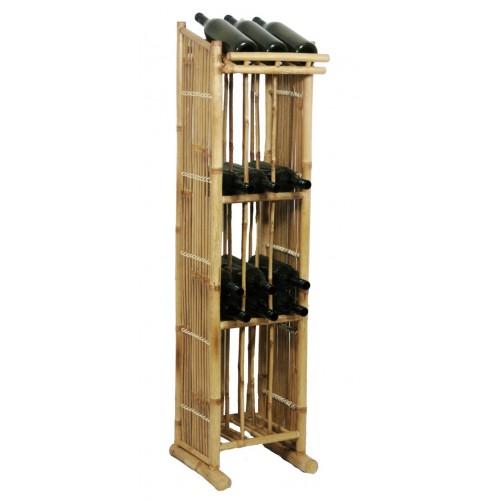 Bamboo Wine Tower