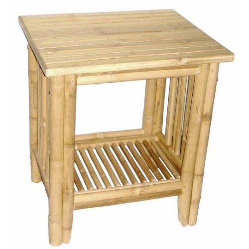 Bamboo fancy side table