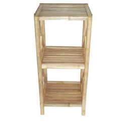 Bamboo 3 tier bath shelf