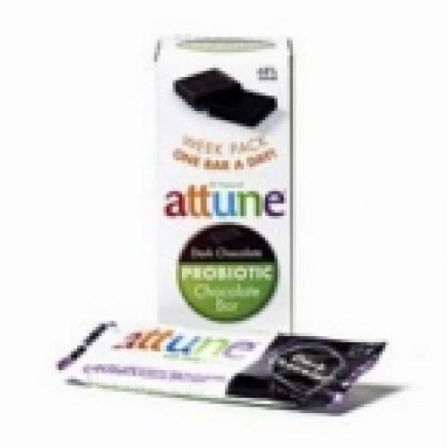 Attune Foods Dark Chocolate Probiotic Bar (4x7x.7 Oz)