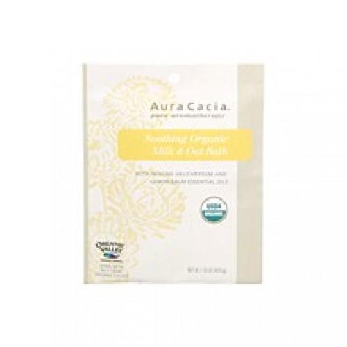 Aura Cacia Soothing Milk & Oat Bath with Healing Helichrysum (4x1.75 Oz)