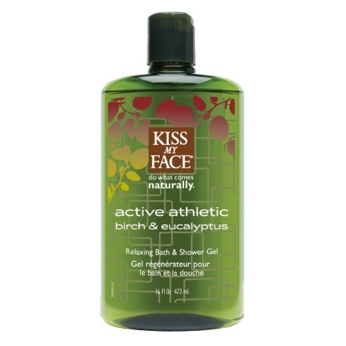 Kiss My Face Athletic Bath Shower Gel (4x16 Oz)