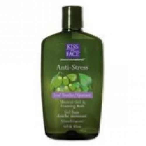 Kiss My Face Anti-Stress Bath Shower Gel (4x16 Oz)