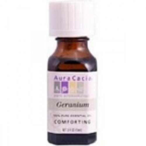 Aura Cacia Geranium Essential Oil (2x0.5Oz)