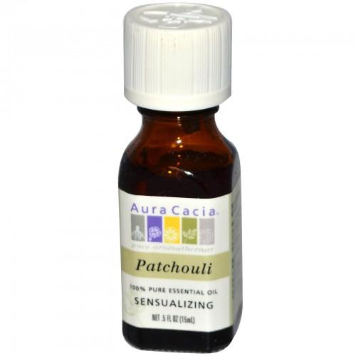 Aura Cacia Patchouli Essential Oil (4x0.5Oz)