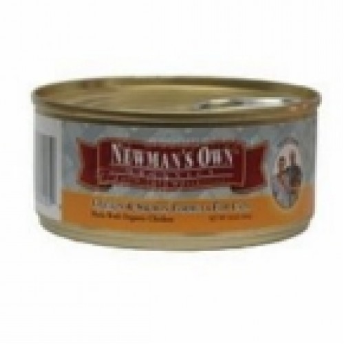 Newman's Own Chicken & Salmon Cat Food Can (24x5.5 Oz)