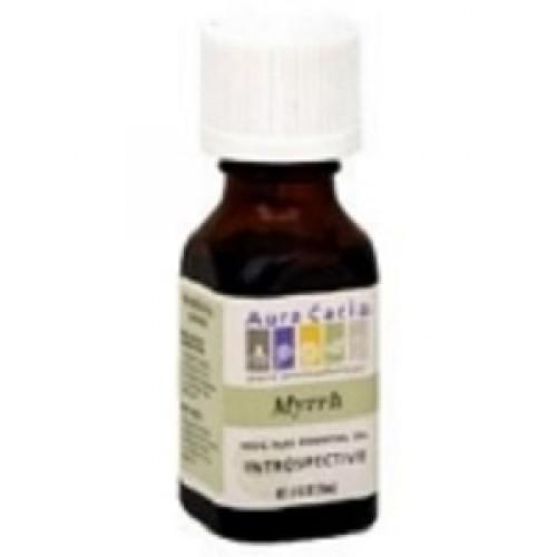 Aura Cacia Myrrh Essential Oil (2x0.5Oz)
