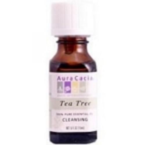 Aura Cacia Tea Tree Essential Oil (2x2Oz)