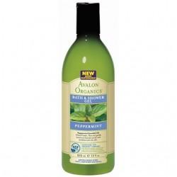 Avalon Peppermint Bath & Shower Gel (4x12 Oz)