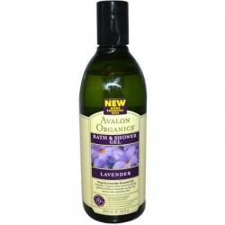 Avalon Lavender Bath & Shower Gel (4x12 Oz)