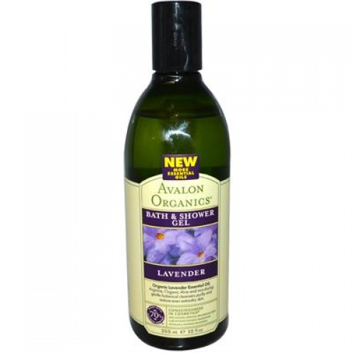 Avalon Lavender Bath & Shower Gel (4x12 Oz)