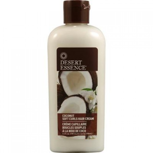 Desert Essence Coconut Soft Curls Hair Cream (4x6.4 Oz)