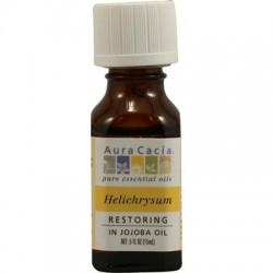 Aura Cacia Essentials Helichrysum In Jojoba Oil (2x.5 Oz)