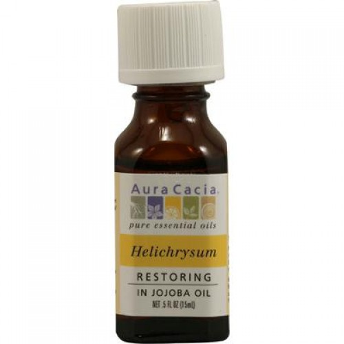 Aura Cacia Essentials Helichrysum In Jojoba Oil (2x.5 Oz)