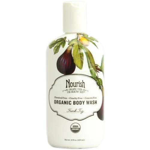 Nourish Organic Fresh Fig Body Wash (4x10 Oz)
