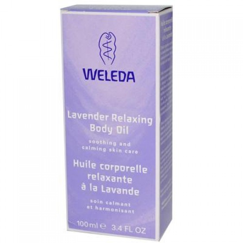 Weleda Lavender Body Oil (2x3.4 Oz)