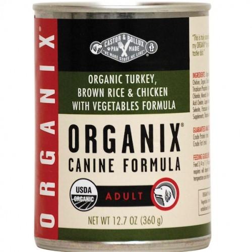 Castor & Pollux Org Turkey/Veg Dog (12x12.7OZ)