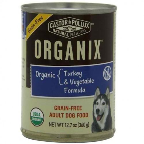 Castor & Pollux Org Turkey Veg Dog (12x12.7OZ)