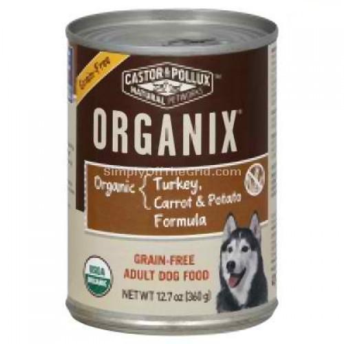Castor & Pollux Org Turkey Potato Dog (12x12.7OZ)